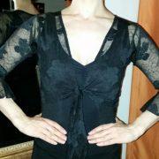 T007A_Bolero flamenco encaje negro frente_LIV