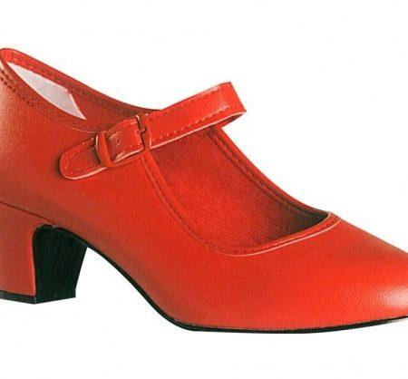 Zapato Feria Rojo