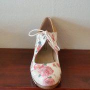 zapato profesiona flamenco Arty floreado 38-5 Ancho frente 162
