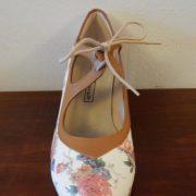 Zapato profesional flamenco Candor 37-5 Ancho anfloreado frente 155