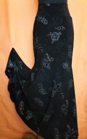 F028B Falda flamenco Tres quillas especial abierta LIV