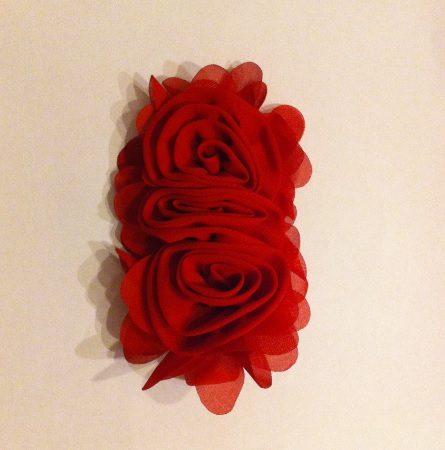 Flor triple roja LIV