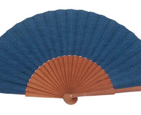 Abanico mediano peral vaquero Azul
