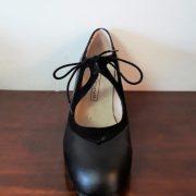 Zapato Begoña Cervera Candor 38 negro frente
