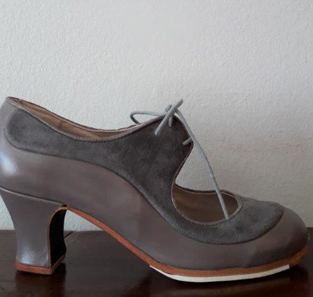 Zapato Begoña Cervera Angelito gris 36-5