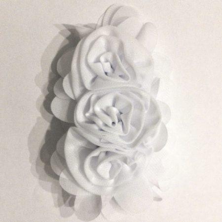 Flor triple blanca